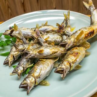 鮎や - 鮎食べ放題 1皿目