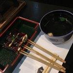 卯月 - 味噌田楽、私は凄く好きです。吸物は薄味過ぎです。