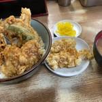 豊野丼 - 白子天丼