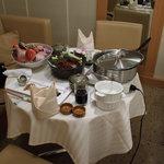 森羅 - 料理写真:2008/12 伊勢海老のコラーゲン鍋と金目鯛の造り