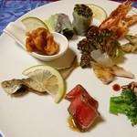 リストランテ松下 - 料理写真:前菜盛り合わせ