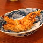 東白庵かりべ - 海老の味噌焼
