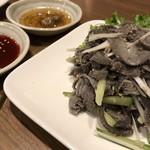 韓国家庭料理・焼肉 おしお - センマイ刺し