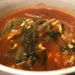 韓国家庭料理・焼肉 おしお - ユッケジャンスープ
