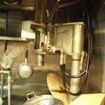 そば処ひろよし - ナゾの製麺機