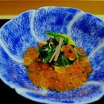 96821760 - 新イクラと山榎茸、京菊菜