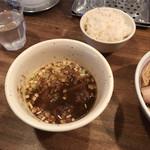 吉田製麺店 - 濃い目のつけ汁