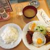 コトブキ - 料理写真:ミニハンバーグ 魚フライ