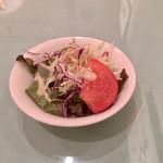 オステリア ジラソーレ - ランチのサラダ