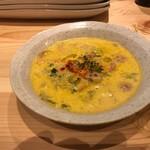 BISTRO 222 - ソーセージと野菜が入ったスープ