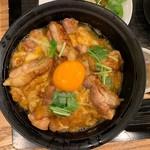 秋田比内地鶏生産責任者の店 本家あべや - 極上比内地鶏の親子丼