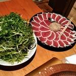 柳町 - 料理写真:鴨すきセット