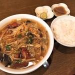 福満楼 - 野菜レバーラーメン(700円)