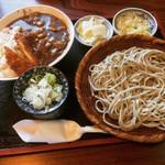 梅の茶屋 - 料理写真:チキンカツカレーセット ¥950-