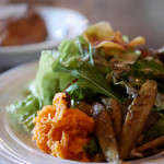 フランス食堂 清水 - 地場産フレッシュサラダ