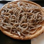 蕎麦さとやま - カレー南蛮の蕎麦