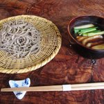 そば切り からに - 料理写真:鴨汁(粗挽き)