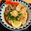 き田たけうどん - 料理写真:炙り牛トンぶっかけ