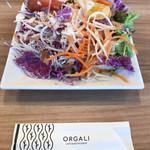 カフェ アンド レストラン オーガリ - ワンディッシュのサラダ