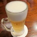 ほうみん - 生ビール(小グラス)