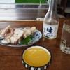 田宮酒店 - 料理写真:冷酒 & フカ酢味噌