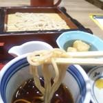 蘭免ん - 麺は細く硬め