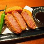 うどん・鍋 鰹さん - 雲仙ハムカツ
