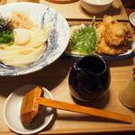 うどん・鍋 鰹さん - 鶏天ぶっかけ