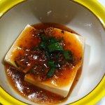 Hanamurasaki - 豆腐。けっこう辛くて美味しかった^^