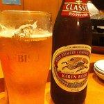 どん蔵 - 瓶ビールと生ビール♪