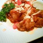 セサミ - 鶏の唐揚げ エスニック風