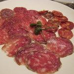 ポニ・アネラ - イタリア産サラミ盛合せ1000円