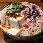 串カツ屋エベス - 黒ゴマ坦々鍋