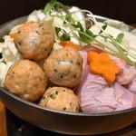 串カツ屋エベス - 鶏だんご鍋