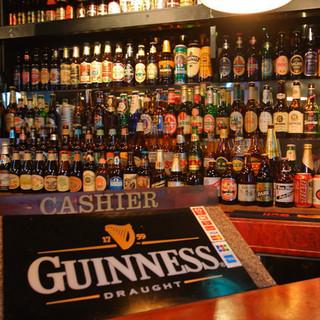 生ビールは常時4~5種をご用意!世界のクラフトビール大集合♪