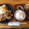 食堂まんまや - 料理写真:唐揚げ定食