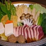 生粋そば玉屋 - 料理写真:鴨鍋飲み放題コース始めました!要ご予約