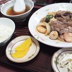 ようすい - 八宝菜定食★ご飯(小)