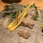 玄海の活魚と糸島直送の食 博多居酒屋 どげん海 - げそは刺身で〜