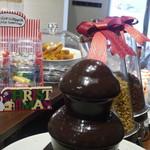 ihana cafe - チョコレートファウンテン