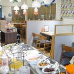 ihana cafe - おかずビュッフェの隣にはドリンクバーが完備☆