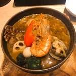 スープカレーガラク - シーフード 海の恵