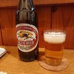 96868587 - 瓶ビールはキリンラガー中瓶 201811