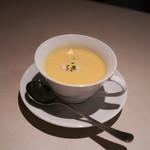 シェフむらい - 究極...季節のスープ仕立て 南瓜☆