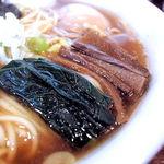 ラハメン ヤマン - 小松菜とメンマ