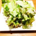 肉GARAGE - フレッシュなグリーンサラダ。