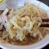 あじ庵食堂 - 料理写真:あじ郎ラーメンの麺