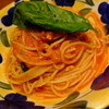 """マイアミガーデン - 料理写真:""""ツナとバジルのトマトソース"""""""