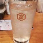 立ち飲み大松 - レモンサワー(367円税込)