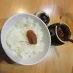 すき焼き・しゃぶしゃぶ・懐石料理 小豆 - お替り、肉味噌